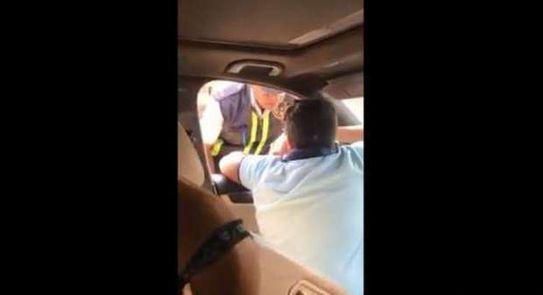القبض على الطفل المتهم بالعتدى على شرطي المرور بالبساتين