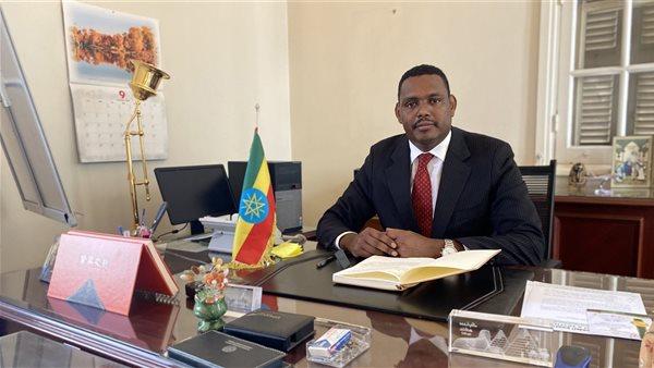 السفير الإثيوبي في مصر